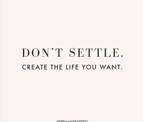 Why people settle